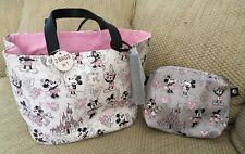 NWT DISNEY PARKS PURSE TOTE MICKEY MINNIE MOUSE CASTLE 2 BAGS IN ONE BALLOONS