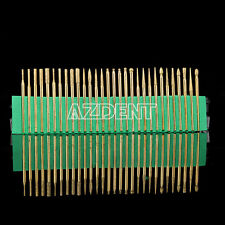 Dental Diamond Burs Titanium Coated For Micro Motor&Straight Nosecone 30Pcs/Kit