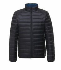 Nylon Funnel Neck Quilted Coats & Jackets for Men