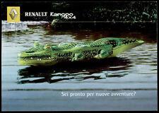 cartolina pubblicitaria PROMOCARD n.2729  RENAULT KANGOO 4X4 AUTOMOBILE CAR