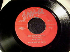 RARE ROCKABILLY 45~ROY HALL Three Alley Cats ORIGINAL on Hi-Q~HEAR IT Fortune tc