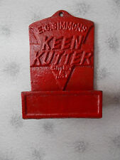 E.C.Simmons Keen Kutter Cutlery & Tools Cast Iron  Match Holder ExcCondition