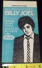 1989 Wplj 95.5 Radio Concert Promo Satin Sticker Madison Square Garden Mint!M