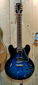 """Gibson ES-335 Dot Blues Burst - E-Gitarre inkl. Koffer """"B-Stock"""""""