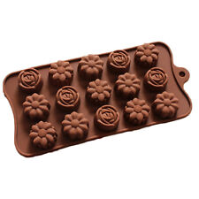 NEW-15-Cavity-Flower-Cake-Chocolate-Pan-Candy-Silicone-Baking-Mold-Tray