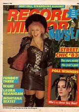 Beki Bondage on Magazine Cover 8 January 1983      Shakin' Stevens