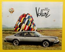 1977 PLYMOUTH VOLARE Coupe Front Runner Station Wagon Sedans Airplane 20 pages