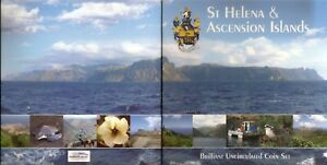 St. Saint Helena Coins Set  2003 / 2006 UNC in Blister