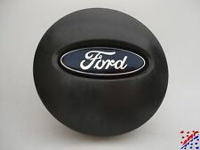 "Genuine OEM Ford Wheel Center Hub Cap 2-5/8"" Flat Black Charcoal 6F23-1A096-BA"