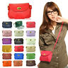 Women's Wallets Purse Cross body Bags Retro Cute Small Solid PU Leather Handbags
