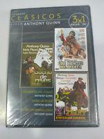 Anthony Quinn Coleccion 3 Peliculas - DVD Region All Español Ingles Nueva 2T