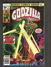 "Godzilla #2 ~ ""Thunder in the Darkness!"" / Trimpe Cvr & Art ~ 1977 (8.5) WH"