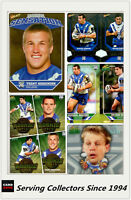 NRL Trading Card Master Team Collection-BULLDOGS-2011 Select NRL Champions