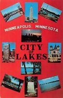 Postcard City of Lakes Minneapolis Minnesota