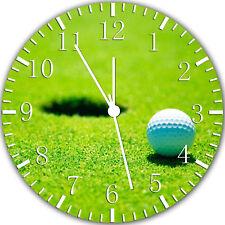 Golf Frameless Borderless Wall Clock Nice For Gifts or Decor W332