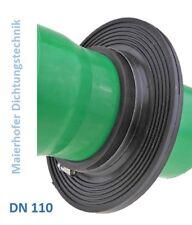 Mauerkragen Dichtkragen Wassersperrflansch  DN 110 für KG Rohr mit Montageset