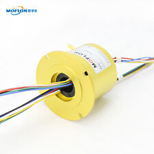 MT2586F SLIP RINGS WITH BORE SIZE 25.4mm(1''),18 wires/10A each,MOFLON slip ring