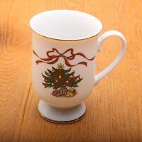 Christmas Collectible Irish Coffee Mug Footed Tea Cup Vintage