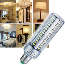 E27  LED Corn Bulbs 5736 SMD Lumens Aluminum Lamps Light 85-265V warm white