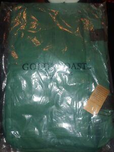 SET OF 2 GOLD COAST GREEN SHOULDER DUFFLE BAG NEW NWT SPORTS GYM SCHOOL TRAVEL