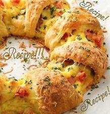 """☆Bacon Egg & Cheese Brunch/Breakfast Ring """"RECIPE""""☆Breakfast in 20 mins!☆Simple!"""