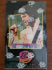ELVIS PRESLEY SEALED 1992 RIVER  GROUP  TRADING CARDS  36 PKS.  BOX  SERIES  # 1
