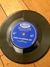 "Aladdin & his wonderful lamp- Beano players-vinyl 7"" -45rpm-gdc Beano records"