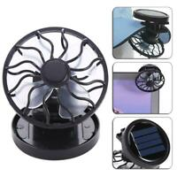 Sun Solar Powered Cooling Fan Clip-On Mini Solar Panel Cell Beach Outdoors R1BO