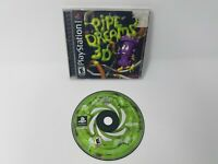 Pipe Dreams 3D Ps1 Playstation 1 Game 100% CIB Good Shape Tested and Works!