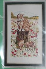 "Eva Rosenstand Counted Cross Stitch kit ""Cats""  New!"
