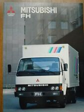 MITSUBISHI FH Truck Brochure 1990 Fuso Africa sales catalogue Canter 6D31 Diesel