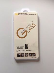 TWO 100% REAL TEMPERED GLASS SCREEN PROTECTOR FOR APPLE IPHONE 6 PLUS - NEW