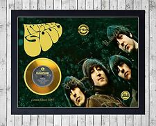 BEATLES RUBBER SOUL (1) CUADRO CON GOLD O PLATINUM CD EDICION LIMITADA. FRAMED