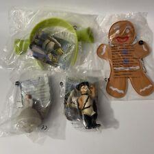 Shrek 2 Burger King Figures Lot Of 4 NEW Sealed