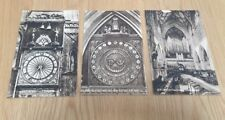 WELLS CATHEDRAL Somerset Post Cards x 4 UNUSED Free Post