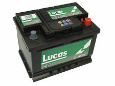 075 Lucas Premium 60ah Car & Van Battery 4 year Guarantee