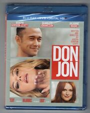 DON JON new blu-ray + dvd JOSEPH GORDON-LEVITT SCARLETT JOHANSSON JULIANNE MOORE