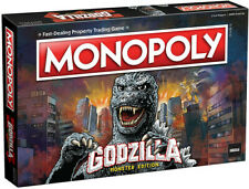MONOPOLY GODZILLA [New ] Table Top Game, Board Game