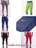 Nike Pro Hypercool Max 3/4 Men's Training Running Tights