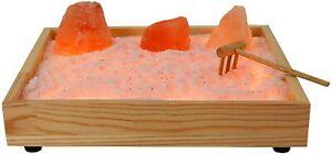 Himalayan Glow Natural Himalayan Salt Zen Garden Pink Salt NIB