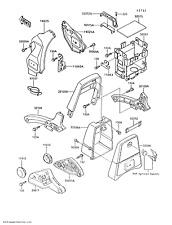 Kawasaki OEM Part: 32098-1057 Tool Case