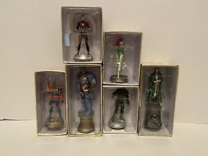 Eaglemoss Figures - DC Comics Characters - Deathstroke, Darkseid And 4 Others