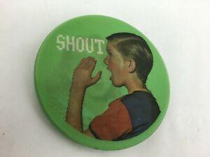DEVO Official Shout Tour flasher/flicker button 1984 NOS