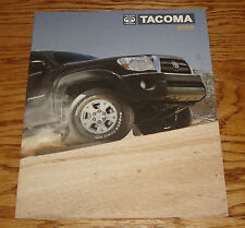 Original 2008 Toyota Tacoma Sales Brochure 08