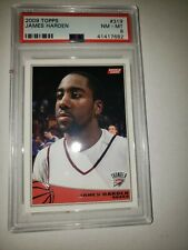 2009 James Harden Topps Rookie RC PSA 8 NM-MT