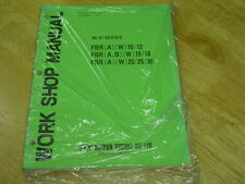 NYK Nippon Forklift  NEW Shop Manual 40/41 Series FBR-10, 12, 15, 18, 20, 25, 30