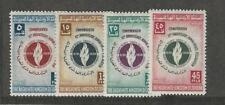 Jordan, Postage Stamp, #348-351 VF Mint Hinged, 1958