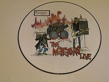 THE METEORS - THE METEORS LIVE - LP 1985 PICTURE DISC DOJO RECORDS UK - EX++