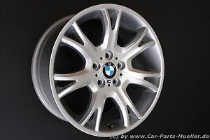X3 original BMW E83 Alufelge Y-SPEICHE 191 Felge M Paket Sportpaket wheel Jante
