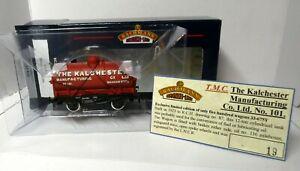 Bachmann 33-675Y 14T Tank Wagon KALCHESTER 101 red Ltd. Ed. TMC boxed (j)